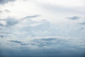 Himmelwolke blau foto