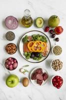die flexible Ernährung Ernährung Arrangement foto