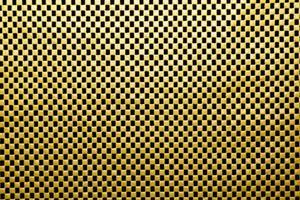 gelber Hintergrund mit sich wiederholendem Muster foto