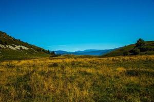 Landschaft in der Nähe von Lake Garda foto