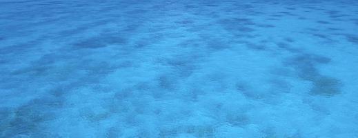 klares blaues Meer foto