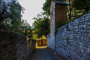 das Dorf Gubbio foto