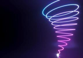 abstrakte Neonformen foto