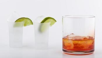 Whisky ein Cocktail foto