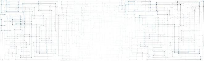 Linien- und Punktmuster-Hintergrundtechnologiekonzept foto