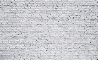weiße Backsteinmauer Textur Hintergrund foto