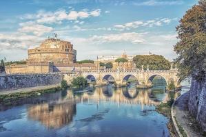 Die Stadt Rom am Nachmittag foto