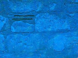 Nahaufnahme von blauem Stein oder Felswand für Hintergrund oder Textur foto