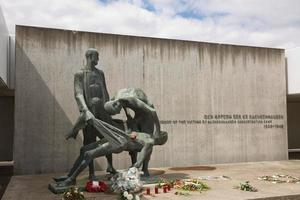 Jüdische Kaserne und Museum im Nazi-Lager Sachsenhausen, Oranienburg, Deutschland foto
