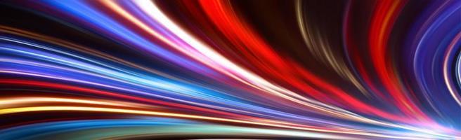 Bewegungsunschärfe Beleuchtung foto