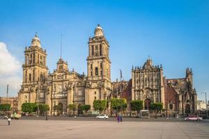 mexiko stadt kathedrale in mexiko foto