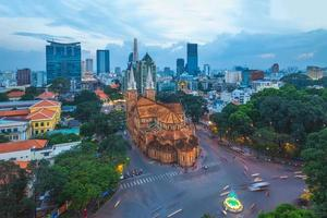 Notre-Dame-Kathedrale Basilika von Saigon Vietnam foto