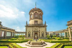 Nationalmuseum für Geschichte Schloss Chapultepec in Mexiko-Stadt foto