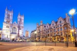 Straßenansicht von London, Großbritannien foto