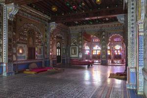 Jodhpur Fort Interieur in Rajasthan, Indien foto