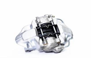 neuer Bremssattel mit Bremsbelag foto