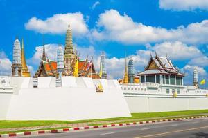 Grand Palace und Wat Phra Kaeo in Bangkok, Thailand foto