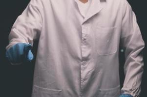 Handgesten des Arztes bei Aktivitäten foto