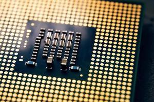 CPU-Chip-Computer-Prozessor foto