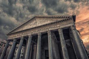 das pantheon in rom foto