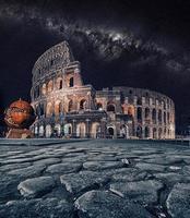 das kolosseum in rom italien foto