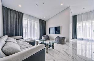 modernes Interieur Wohnzimmer foto