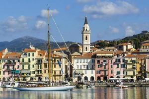 Dock von Imperia in Ligurien foto