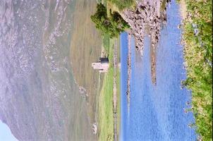 Ruinen im schottischen Hochland foto