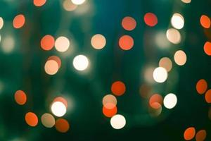 Weihnachten und guten Rutsch ins Neue Jahr defokussierter abstrakter Hintergrund foto