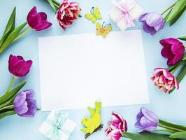 Gruß zum Frauen- oder Muttertag foto