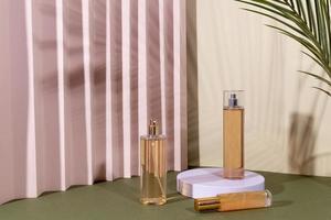 das minimale Beauty-Produktsortiment foto