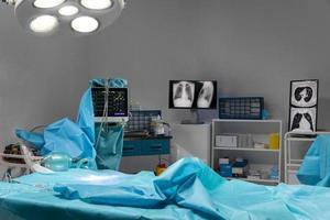 Krankenhausausrüstung chirurgisches Verfahren foto