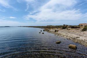 Küste und Himmel foto