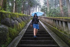 das nikko-schreingebiet in japan foto