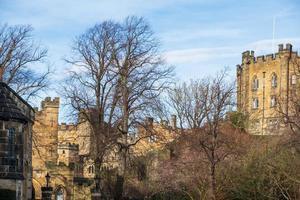 Durham Castle, Norman Castle in der Stadt Durham, England, foto