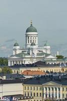 Kathedrale der Diözese in Helsinki, Finnland foto