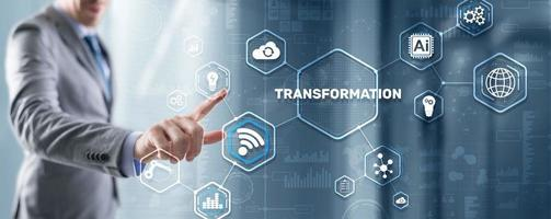 Business-Technologie-Konzept foto