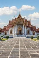 Marmortempel in Bangkok foto
