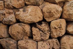 Natursteinmauer Hintergrund foto