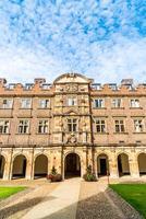 schöne architektur st. Johns College in Cambridge cam foto