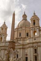 Sant Agnese in Agone Kirche auf der Piazza Navona, Rom, Italien foto