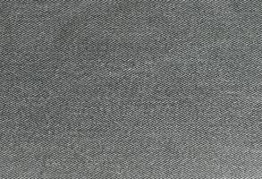 graues Denimrechteck, Hintergrund aus strukturiertem Jeansmaterial foto