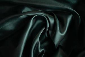 grüner Stoff Textur Hintergrund, abstrakt, Nahaufnahme Textur des Stoffes foto