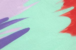 bunter abstrakter strukturierter Zeichnungswandhintergrund foto