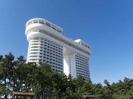 Gebäude in der Stadt Gangneung, Südkorea foto