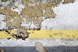 alter gebrochener steinmauer abstrakter hintergrund foto