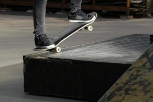 Skateboard-Skill-Detail foto