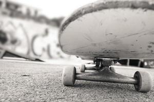 Skateboard hautnah foto