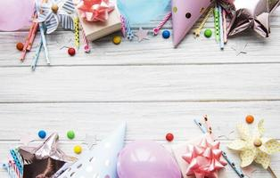 Alles Gute zum Geburtstag oder Party Hintergrund foto