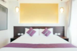 abstrakte Unschärfe Schlafzimmer foto